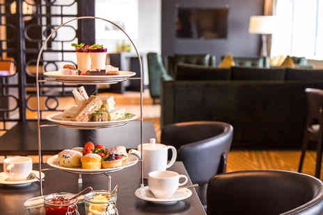 Hilton Canary Wharf Hotel -  Afternoon Tea and Cocktail for Two - Save 53%