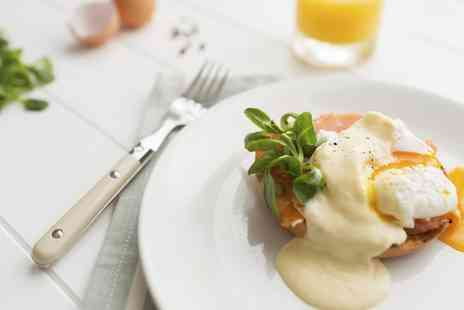 143 The Canopy Restaurant - Breakfast or Brunch and Hot Drink for Two  - Save 44%