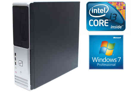 Rapid IT - PC with 4GB RAM  250GB HDD, Windows 7 & Wi-Fi - Save 0%