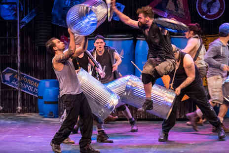 ATG Tickets - Band A ticket to see Stomp live   - Save 27%