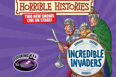 Hackney Empire - Horrible Histories Incredible Invaders or Groovy Greeks Tickets  - Save 26%