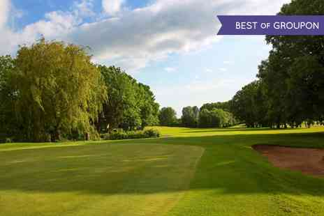 Macdonald Hill Valley Hotel  - 18 Holes of Golf with a Bacon Roll and Hot Drink for Up to Four  - Save 0%