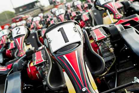 Lakeside and Brentwood Karting - 20 minute karting session   - Save 50%