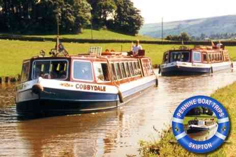 Pennine Boat Trips - £19 for Sunday Roast Dinner Cruise for Two - Save 62%