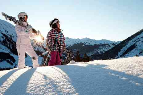 Hotel les Clarines - Seven Nights family ski break in the French Alps With full board ski pass and free drinks - Save 40%