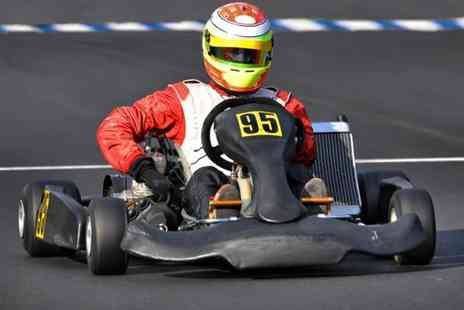 Midland Karting - One hour go karting experience  - Save 65%