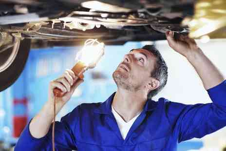 Ride Repairs - 54 Point Car Service with Oil Filter Change and Optional Engine Diagnostic Test - Save 0%