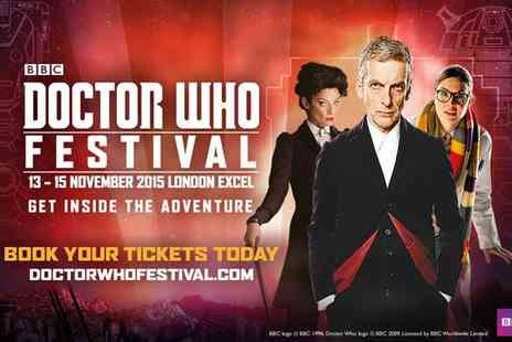 Doctor Who Festival 2015 - Doctor Who Festival with Peter Capaldi and Michelle Gomez, 13 November - Save 0%