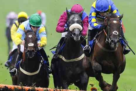 Chepstow Racecourse - The Totepool Chepstow Jumps Festival on 10 or 11 October  - Save 50%
