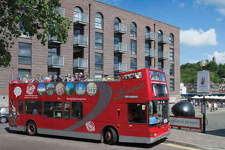 Bristol Insight - Hop On Hop Off Bristol Sightseeing Tour for Two - Save 50%