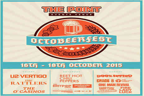 The Point - Entry for Two in Octoberfest - Save 50%