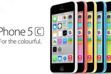 Connectronics - iPhone 5C  8GB, 16GB or 32GB in Several Colours - Save 61%