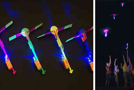 CFS Trading - Five Pack of LED Helicopter Shooters - Save 67%
