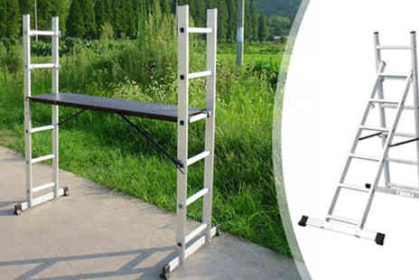 Plus Bee - Multi Purpose Aluminium DIY Step Ladder - Save 0%