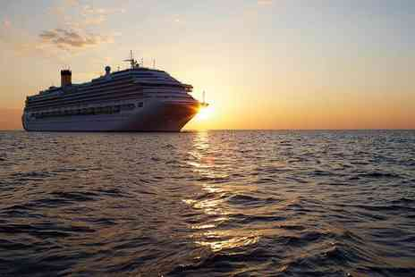 Book In Style - Seven night full board Mediterranean Cruise with flights  - Save 54%