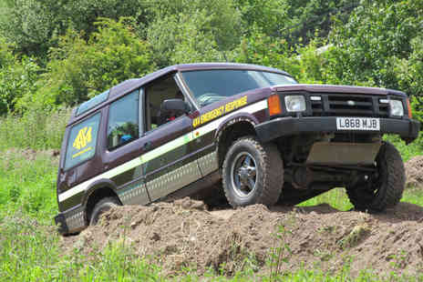 Dorset Activities - Adult or junior 4x4 driving experience   - Save 63%
