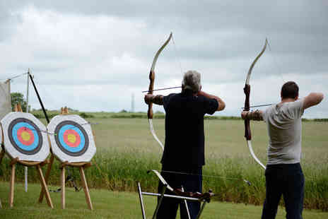On Targett Events  - Three hour archery, axe throwing and shooting experience  - Save 64%