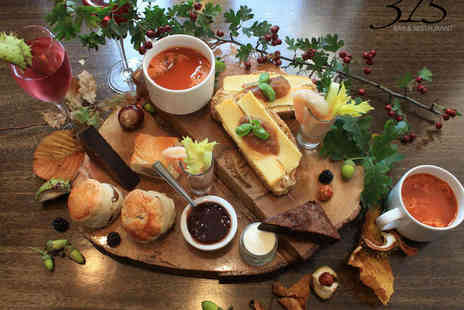 315 Bar & Restaurant - A Taste of Autumn Afternoon Tea at Double AA Rosette Awarded Restaurant for Two  - Save 50%