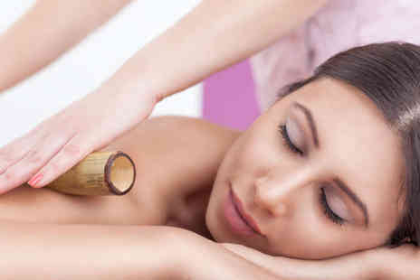 Affinity Holistic Beauty Therapy - Full Body Bamboo Deep Tissue Massage or Back, Neck, and Shoulder Bamboo Massage with Balinese Head Massage - Save 55%