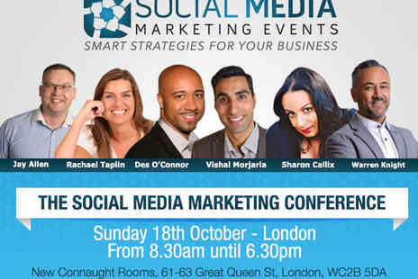 New Connaught Rooms - The Social Media Marketing Conference - Save 51%