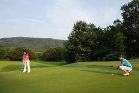 Mond Valley Golf Club - 18 Holes of Golf with Beer and an Optional Barbecue Meal for One, Two or Four  - Save 54%