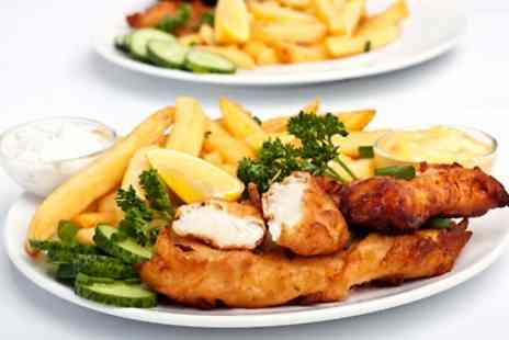The Sun Inn - £10.50 for Fish and Chips with Beer for Two - Save 0%