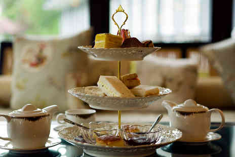 Kettners - Afternoon Tea with a Glass of Champagne for Two - Save 44%