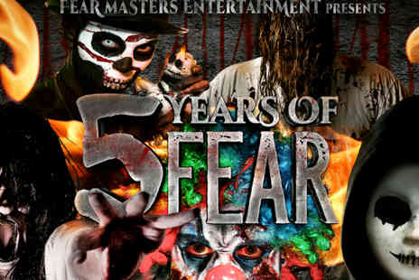 Fear Masters Entertainment - Entry to Five Years of Fear  - Save 50%