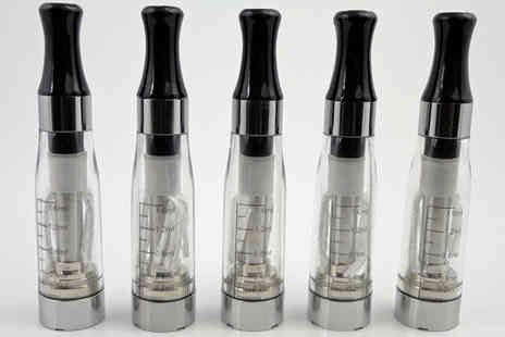 BARGAIN ONLINE - 5 x Clear CE4 Water Pipe Atomizers - Save 0%