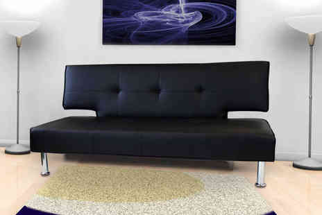 Sleep Design - Three Seater Designer Sofa Bed - Save 63%