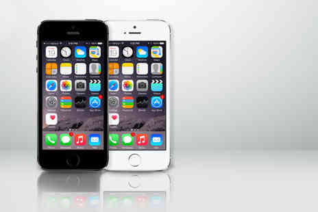Mobiles - IPhone 5S 16GB when you sign up to a 24 month 4G contract - Save 80%