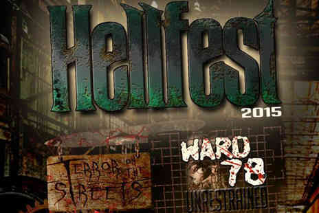 Twisted Attractions - Entry to Hellfest 2015  - Save 52%