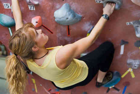 The Climbing Academy - Three Indoor Rock Climbing Sessions - Save 72%