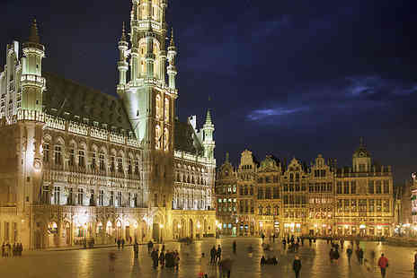 ShortBreaks - Two or Three Nights Brussels Holiday for Two with Eurostar Tickets Dinner and Beer Tasting - Save 25%