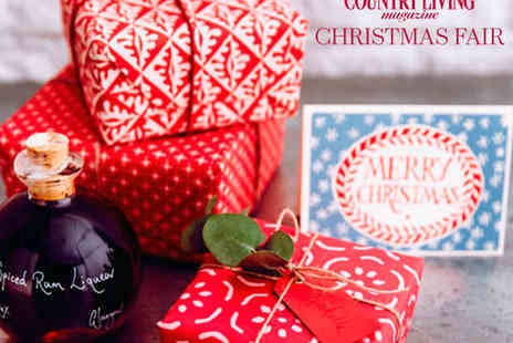 Country Living Magazines Christmas Fair - Ticket to the Country Living Christmas Fair - Save 19%