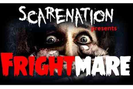 Scarenation - One ticket to Scarenation presents Frightmare Halloween event - Save 50%