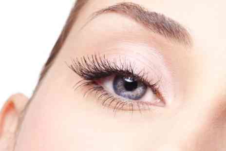 Krem Beauty Clinic - Eyelash Extensions Plus Brow Shape and Tint  - Save 80%