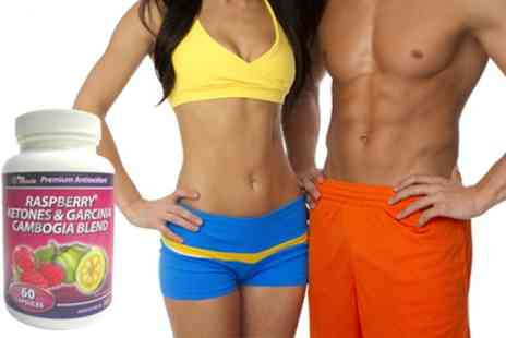 ProMuscle Products Supplements - Up to Three Month Supply of Raspberry Ketones and Garcinia Cambogia - Save 82%