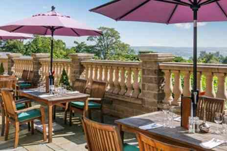 Audley Clevedon Management  -  Afternoon Tea for Two With Ilkley Country Views  - Save 36%