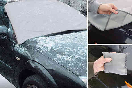 Hungry Bazaar  - Magnetic Windscreen Cover - Save 62%