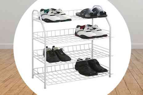 RS Communications - Four Tier Shoe Rack - Save 70%
