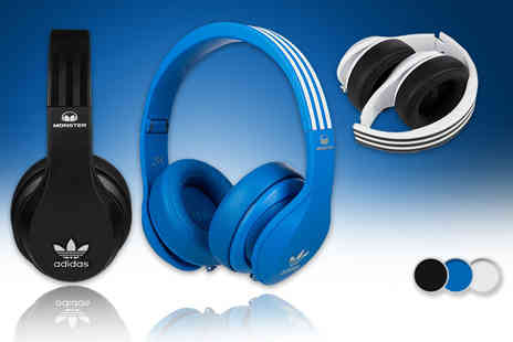 Electronics and Gadgets Direct - Pair of Monster Adidas Originals headphones   - Save 33%
