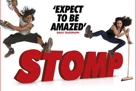 ATG Tickets - Stomp Tickets - Save 36%
