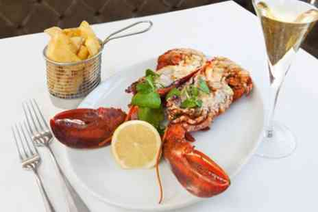 Kettners - Lobster Meal with Champagne for One - Save 52%