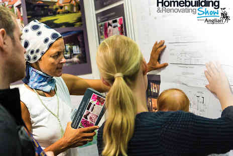 The Homebuilding & Renovating Show - Tickets to Homebuilding & Renovating Show  - Save 50%
