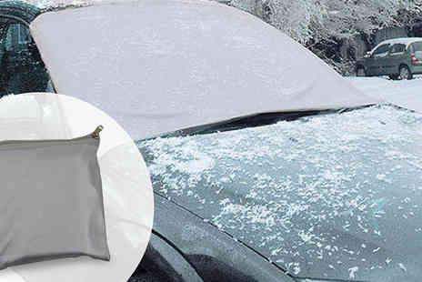 Hungry Bazaar - Magnetic Windscreen Frost Protect Shield - Save 62%