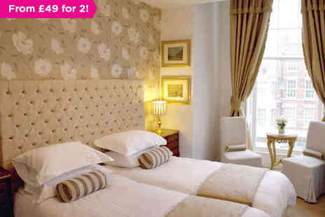 The Georgian Town House Hotel - One, Two or Three nights stay for two - Save 0%