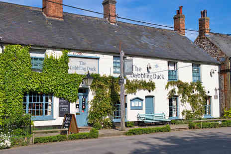 The Dabbling Duck - One night Norfolk Village Stay with a Three Course Dinner - Save 41%