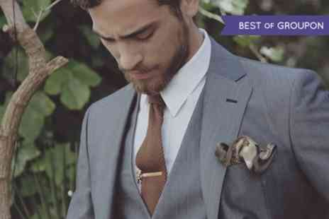 Bencivenga - Two Piece Made To Measure Italian Suit by Bencivenga  - Save 53%