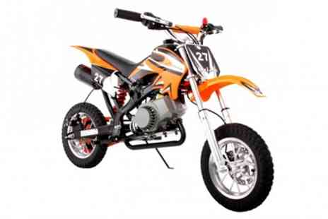 STO RACING PRODUCTS - 49cc Off Road Mini Motocross Bike With Free Delivery - Save 56%